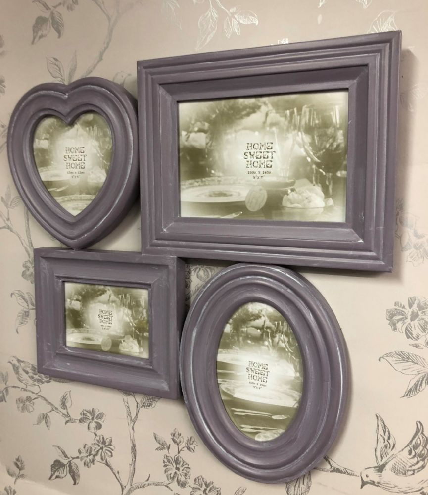 Lilac Large Collage Photo Frame